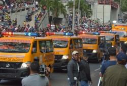 Defensa Civil participa en Desfile Militar por la Batalla del 30 de Marzo