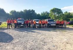 Defensa Civil realiza labores preventivas ante desfogue de presa de Valdesia y contra embalse Las Barías