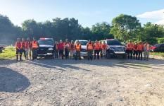 Defensa Civil realiza labores preventivas ante desfogue de presa de...