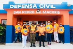 Director Ejecutivo supervisa remozamiento de Oficina Provincial de la Defensa Civil, San Pedro de Macorís