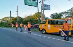 Defensa Civil asiste en carreteras durante feriado por el Día de...