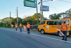 Defensa Civil asiste en carreteras durante feriado por el Día de Duarte