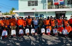 Defensa Civil Dominicana realiza operativo en provincia Duarte para...