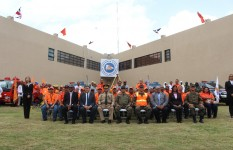 Defensa Civil inaugura sala de situación y firma acuerdo con SENASA