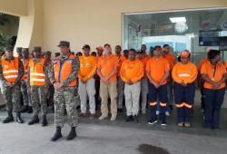 Defensa Civil realiza supervisión de zonas vulnerables ante remanentes de Isaac