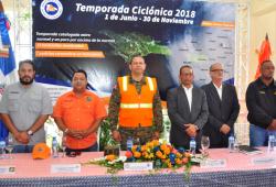 Defensa Civil activa Plan de Contingencia para Temporada Ciclónica 2018