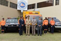 Defensa Civil recibe visita de ministro Peralta; conoce nuevo Sistema Integrado Nacional de Información