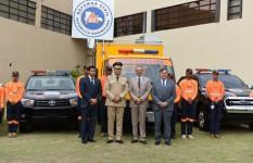 Defensa Civil recibe visita de ministro Peralta; conoce nuevo...
