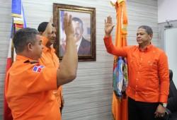 Juramentan dos nuevos directores provinciales de la Defensa Civil