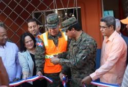Defensa Civil inaugura nuevo local de oficina en la provincia Hato Mayor; organismos realizan operativo médico