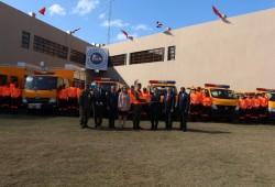 Gobierno de Japón dona equipos de rescate a la Defensa Civil