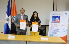 CNE y consorcio Ponte Alerta Caribe realizarán acciones en conjunto...