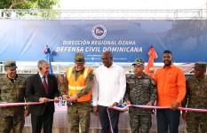 Inauguran oficina regional de la Defensa Civil en la provincia Santo...