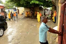 216 personas desplazadas a causa de la tormenta Isaac
