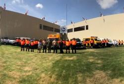 Delegación Brasileña evalúa capacidades de técnicos-rescatistas de la Defensa Civil