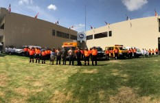 Delegación Brasileña evalúa capacidades de técnicos-rescatistas...