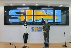 Defensa Civil recibe visita de la Gobernadora Civil de Hato Mayor
