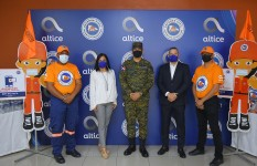 Defensa Civil recibe aporte de Altice para Operativo Semana Santa...