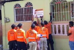DC realiza evacuaciones donde murieron mujer y sus hijas durante derrumbe en Herrera