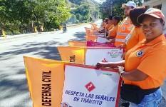 Defensa Civil realiza Operativo por motivo al Día de Reyes