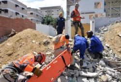 Organismos de socorro realizan Simulacro de Terremoto en Santiago y Puerto plata