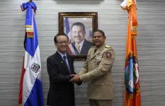 Embajador de Taiwán visita instalaciones de la Defensa Civil