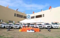 Presidencia de la República entrega equipos a la Defensa Civil con...
