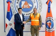 Alcalde del Distrito Nacional visita instalaciones de la Defensa...