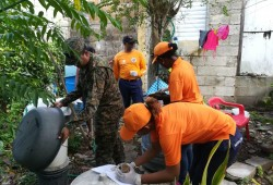 Autoridades realizan operativo contra el dengue a nivel nacional