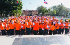 Defensa Civil deposita ofrenda floral en honor a los Padres de la...