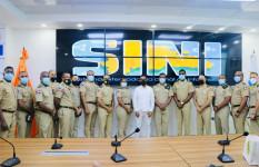Oficiales superiores del Ejército visitan instalaciones de la...