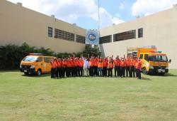 Defensa Civil preparada para Simulacro Nacional de Evacuación ante un Terremoto