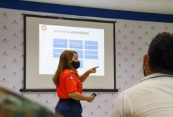 """ESNAGERI imparte curso """"Elaboración de Rutas de Evacuación"""" a personal de Medio Ambiente"""