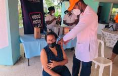 Defensa Civil apoya jornada especial de vacunación contra el...